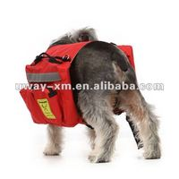 UW-PBP-031 Stylish design best selling bright red canvas pet pocket dog carriers,double dog carrier bag