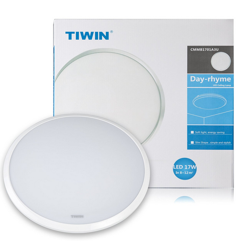 TIWIN High quality Simple design CE ROHS 22W 6000k round ceiling led lighting Home light ceiling lamp