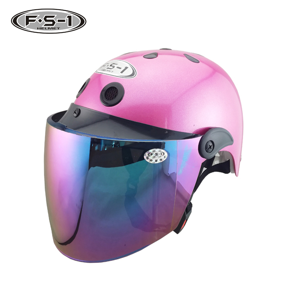 DOT certification road off city lady half face moto helmet opening