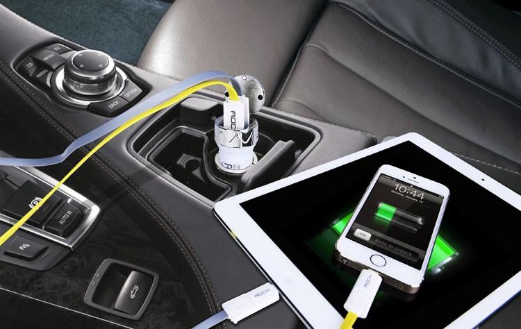 2.1a 2 port usb car charger