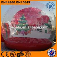 Hot Sale Top Quality Christmas Giant Inflatable Snow Globe