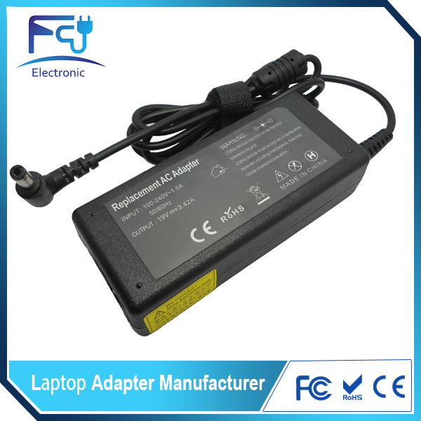 Power Supply for Asus 19V 3.42A 65W ADP-65DB, SADP-65KB B, PA3396U-1ACA Laptop Charger psu