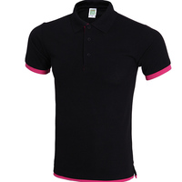 Hot selling Polo t-shirt men dri fit ladies for wholesales vertical striped men's polo shirt