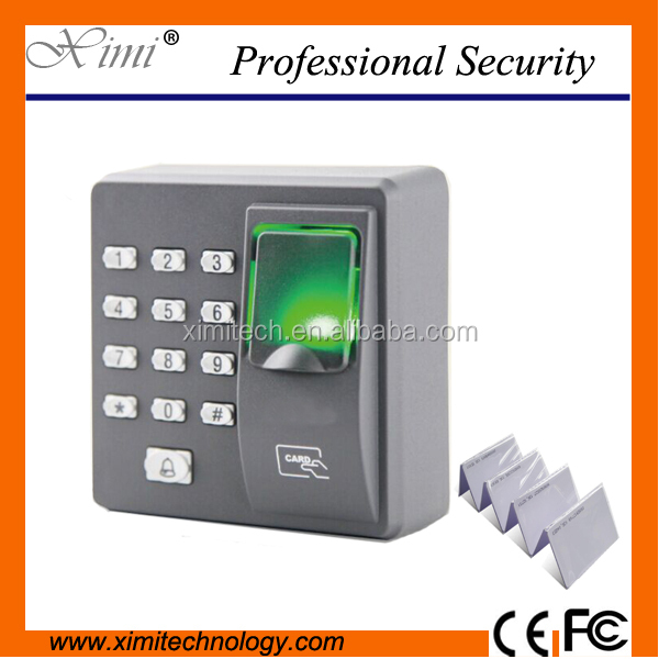 Cheap Price Dustproof Standalone Zkteco X6 Fingerprint Rfid Card Access Control