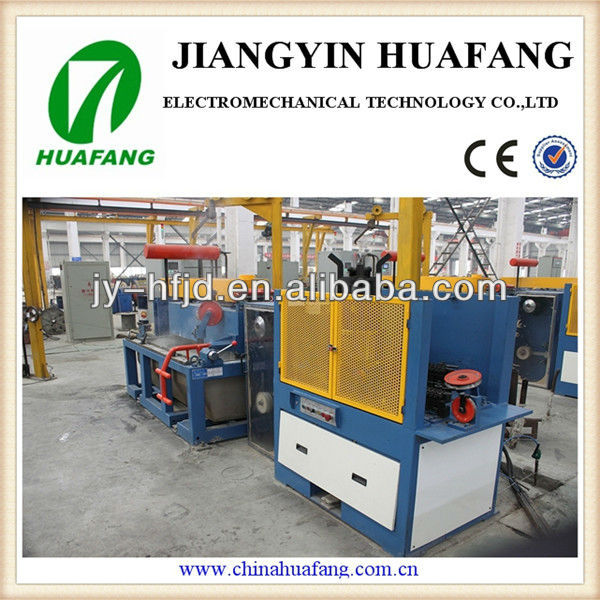 Customized professional 2017 china flux cored solder welding wire straight type drawing machine