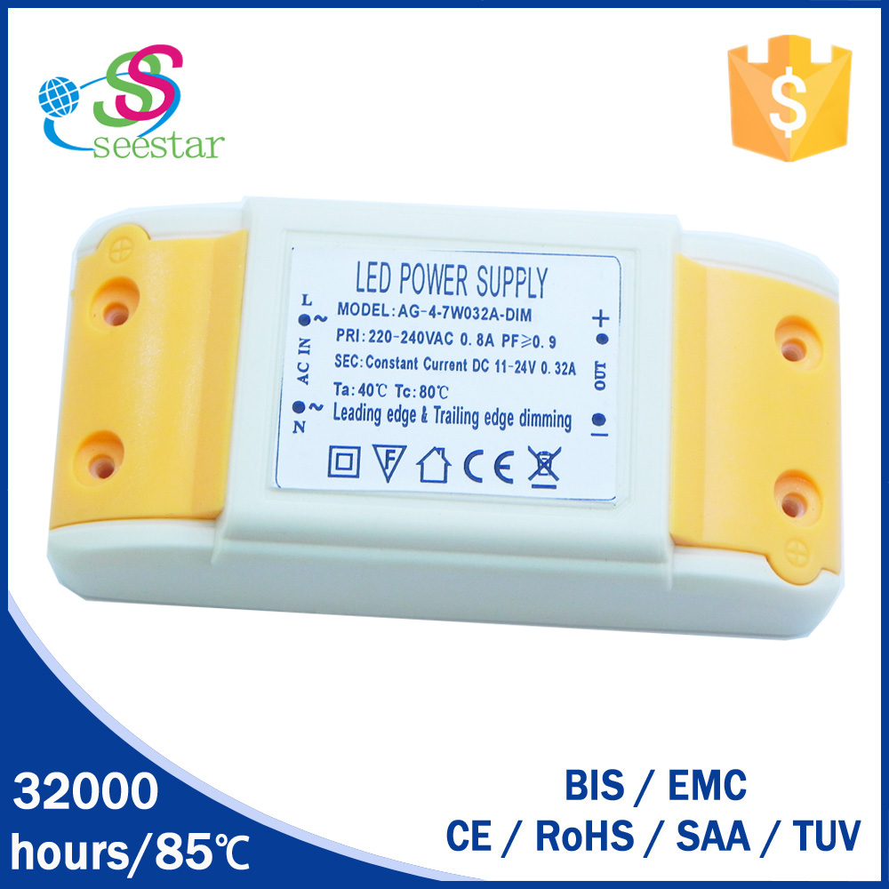 factory price high quality electronic led driver 280/300/350ma constant current wih 9w 10w 12w panel light driver