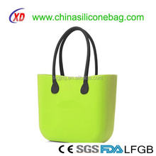 Eva Beach Hand Bag with Rope/PU/Silicone with Handle