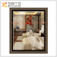 Bedroom Bathroom Wall Mirrors Cheap Plastic Mirror Frame