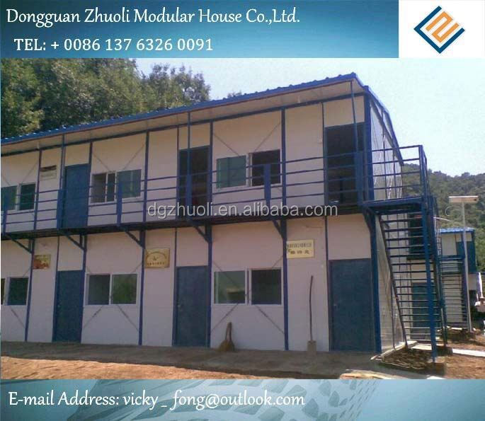 Modular prefab home kit price,low cost pallet racking house