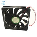 DFS132512H Silent Chassis Cooling Fan DC 12V 3W 0.25A 2200RPM 13525 13.5cm 135*135*25mm 2 Wires