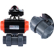Low price 1-1/2 inch pvc electric actuator ball valve