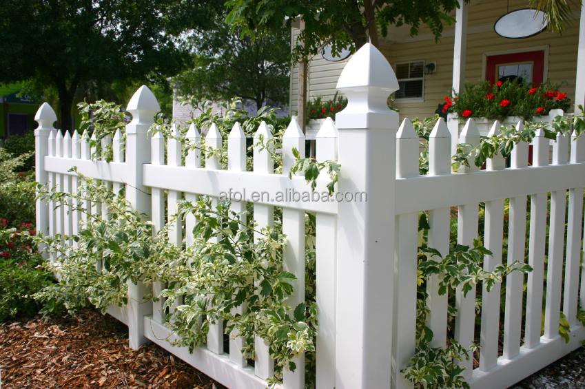 China Supplier Afol Security Pvc Garden Fence Designs
