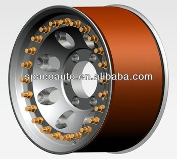 Different design three piece wheels