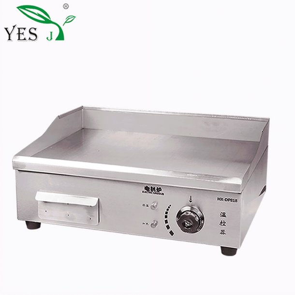 Restaurant Appliances Electric Countertop Griddle With Non Stick Iron Plate