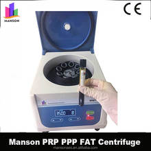 Manson China supplier Medical Tabletop Refrigerated Cold Universal High Speed Lab Centrifuge