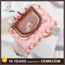 Custom Design PU Leather Japanese Style Wallet