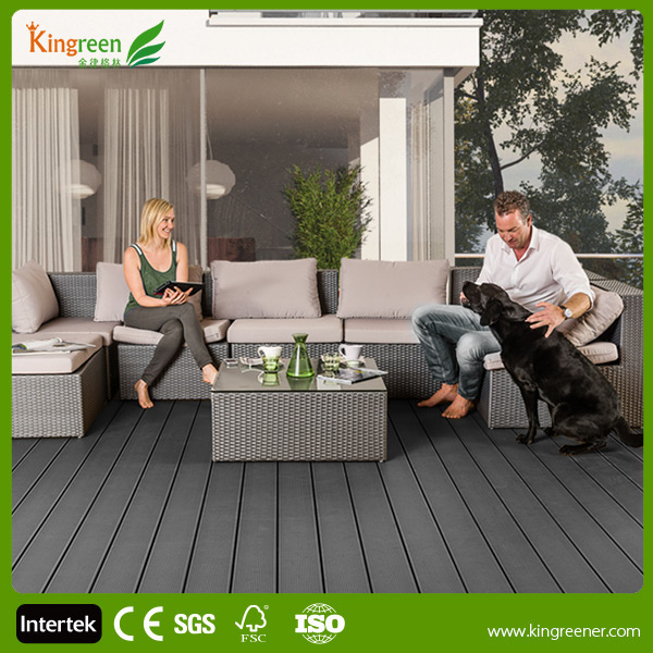 Kingreen Hollow 5 Colors Composite WPC Decking