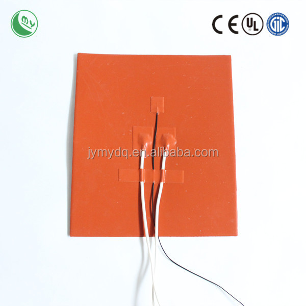 Customized silcone heating mats solar powered battery heater electric water heater