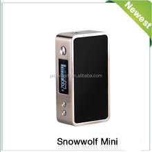 Authentic Snow Wolf 75w Box Mod, Snow Wolf Mini temp control box mods