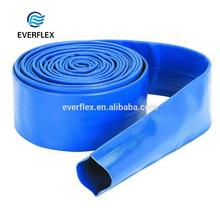 Chinese factory spiral 6 bar heavy duty pool use plastic pvc flat rubber tube manufacturer supply