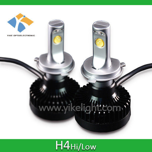 YIKE h4 hi lo hid xenon bulb led car headlight