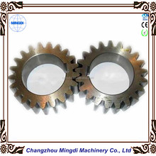 Motorcycle Engine Parts Alloy / Copper Spur Gear / Cylindrical Gear Transmission Parts