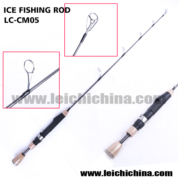 Quality fiberglass blank ice fishing rods buy ice for Ice fishing rod blanks