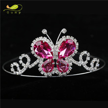 Butterfly Design Pageant Crowns Tiaras