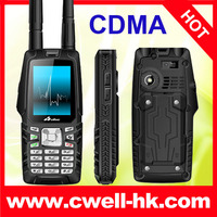 Olive W18 GSM/CDMA phone IP67 Waterproof with VHF Walkie Talkie 3.0MP Camera, 3000mAh Battery and Strong Signal