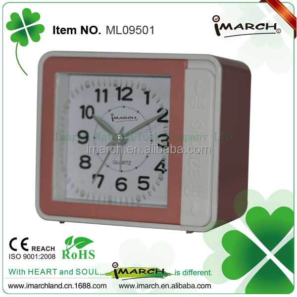 Musical LED cool alarm clock Number Light up Alarm Clocks