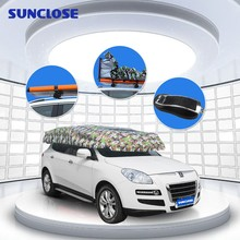 SUNCLOSE Factory lace parasol umbrella mirror for sun visor auto windshield cover protection from sun snow and ice