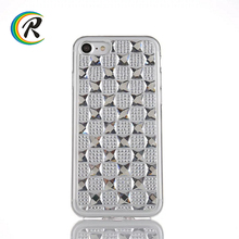 Easy fit phone Gem Bling shell housing for iPhone 7 4.7'' Bling Diamond tpu Silicone