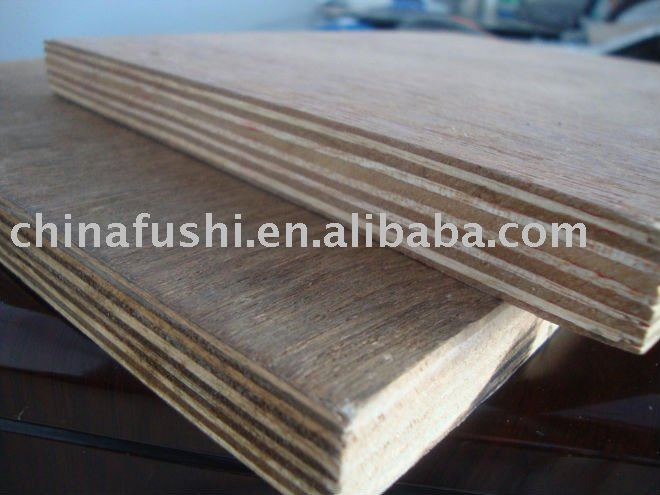 red core keruing gurjan plywood(18*1220*2440MM)