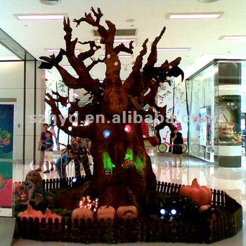 New Halloween Horror PropsFoam TreeCommercial Halloween - Latest Halloween Decorations