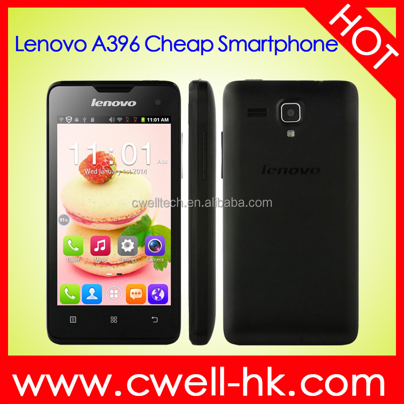 100% Original Lenovo A396 4.0 inch 3G Android 2.3 Smart Phone