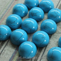 13*13mm wholesale blue turquoise semi-precious gems gemstone egg