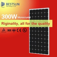 Mono solar panel 300W with 156*156 solar cell for solar system