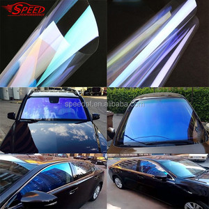 High Quality Korea Material 83% VLT Chameleon Window Solar Light Blue Car Tint Film