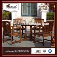 Water Proof Solid Wood Garden Furniture