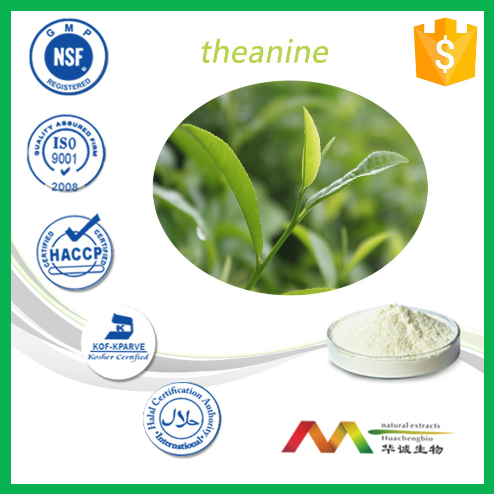 100%Water-soluble Tea Polyphenol Tea Extract / Black Tea Extract l-theanine/green tea powder