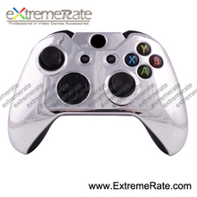 for xbox one controller chrome silver front shell without buttons
