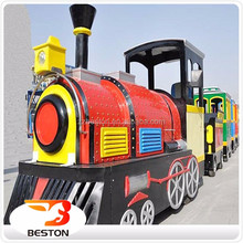 Indoor playground shopping mall used trackless train for sale