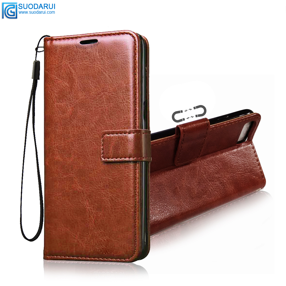 High Quality PU Leather Magnetic Flip Case for LG <strong>W10</strong> with stands Wallet Book Cell <strong>phone</strong> Case