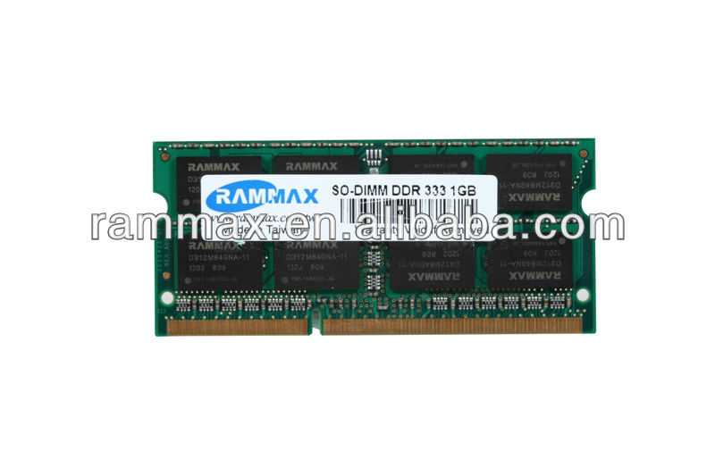Memory sticks 1gb 400mhz DDR laptop OEM brand with retail package