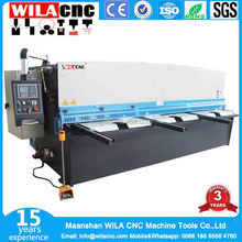 guillotine cutting for steel sheet cnc sheet shear machine cutters steel
