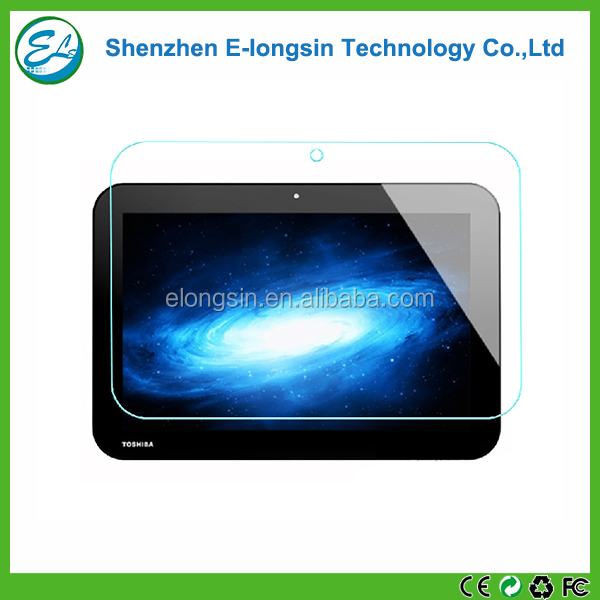 Tablet accessory 9h 0.33mm tempered glass screen protector for Toshiba AT10-A
