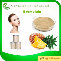 Hot sales plant extract pineapple extract/Bromelain enzyme/Skin care Free sample