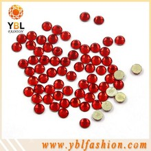 Red SS10 High quality Flatback rhinestone for shoes on sale
