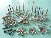All kinds of standard screws (DIN, GB, ANSI, BSW, JIS, GOST,etc.) and non-standard screws