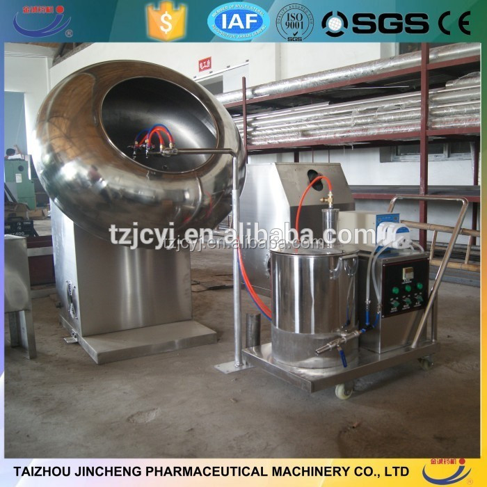SS304 factory price professional chocolate polishing sugar coating machine